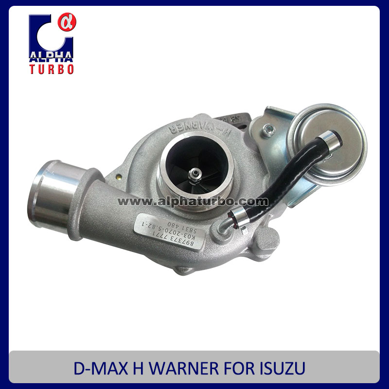 K03 turbocharger for D-MAX H Warner 8973737771